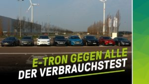 nextmove Audi etron Tesla Model X Hyundai Kona Verbrauchstest