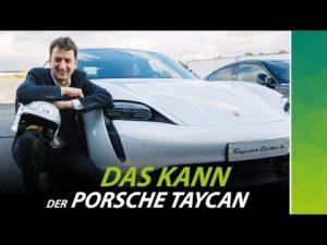Porsche Taycan Turbo Video nextmove