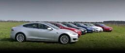 Deutschlands größte Tesla-Mietflotte