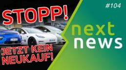 Stopp! Kauft jetzt kein E-Auto