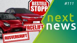 nextnews 111 - Elektroauto-News der Woche Vorschau