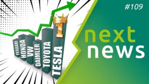 nextnews mit VW ID.Charger, Tesla Quartals-Rallye und mehr Elektroauto-News der Woche