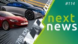 Newsnes 114 mit Volkswagen ID.3, Tesla Palladium und Mercedes EQS