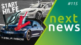 nextnews #115 Teaser mit Tesla, Volkswagen und Polestar 2