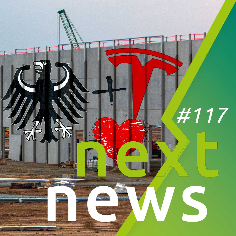 nextnews 117 mit Lob von der Bundesregierung für Tesla und mehr E-Auto-News der Woche