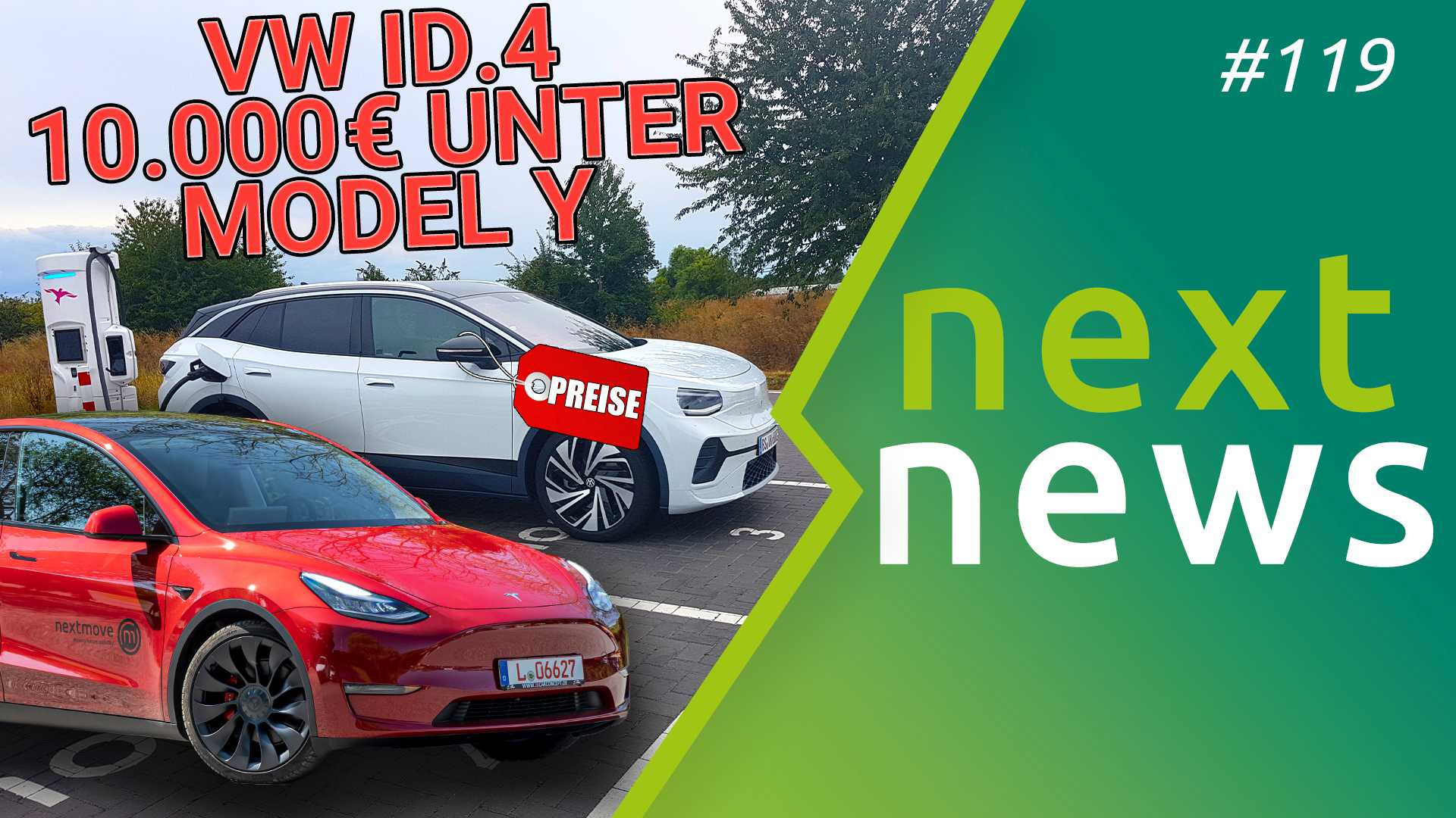 nextnews #119 mit Skoda Enyaq Tesla Model Y und VW ID.4