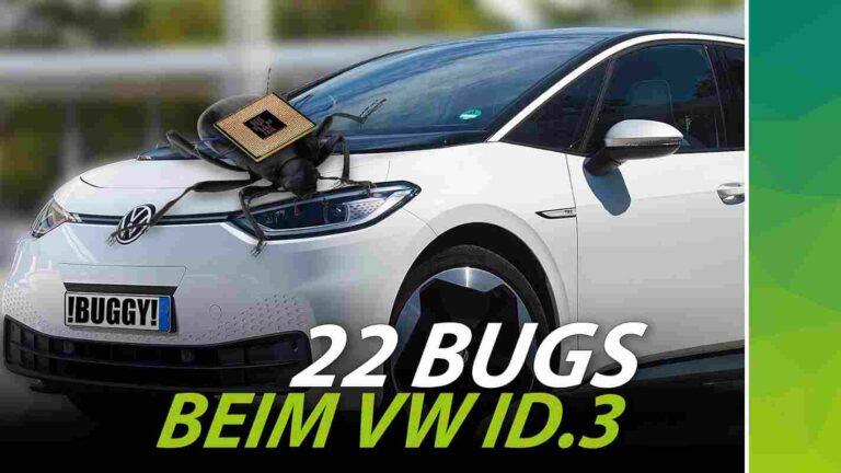 22 Bugs beim ID.3: Software-Fehler von nextmove identifiziert