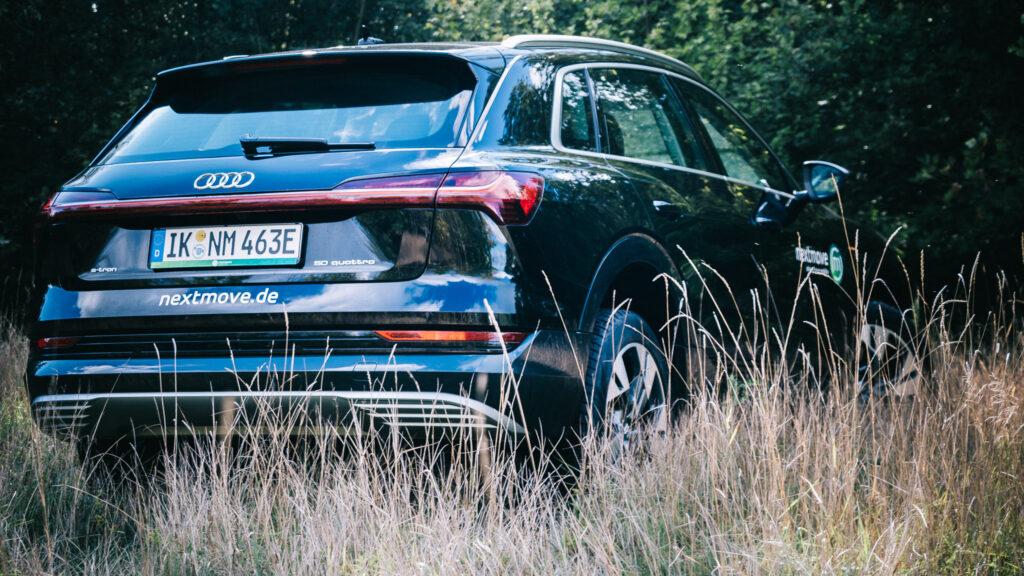 nextmove Audi etron Elektroauto in Leipzig