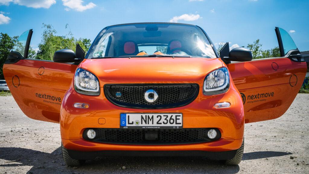 nextmove smart fortwo Elektroauto in Leipzig