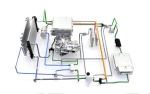 Hyundai Kona Wärmepumpe Kreislauf Detail