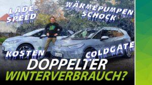 Winter-Performance von Elektroautos - Youtube-Banner