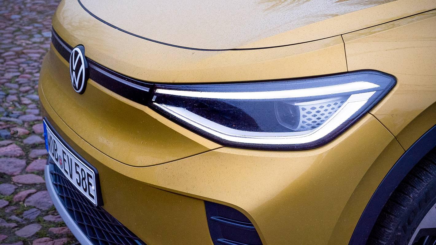 nextmove gelbes Elektroauto VW ID.4 Detailansicht