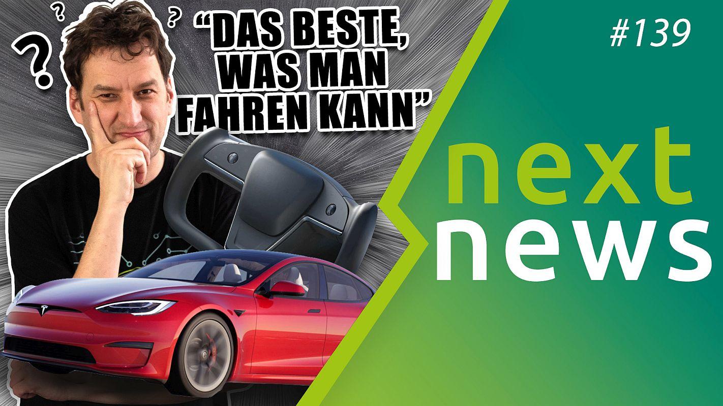 nextmove nextnews #139 Tesla Yoke Steering