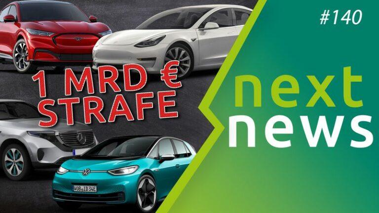 CO2-Strafen, Mercedes EQA, Supercharger-Preise - nextnews #140