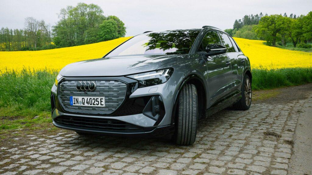 Audi Q4 e-tron von vorne
