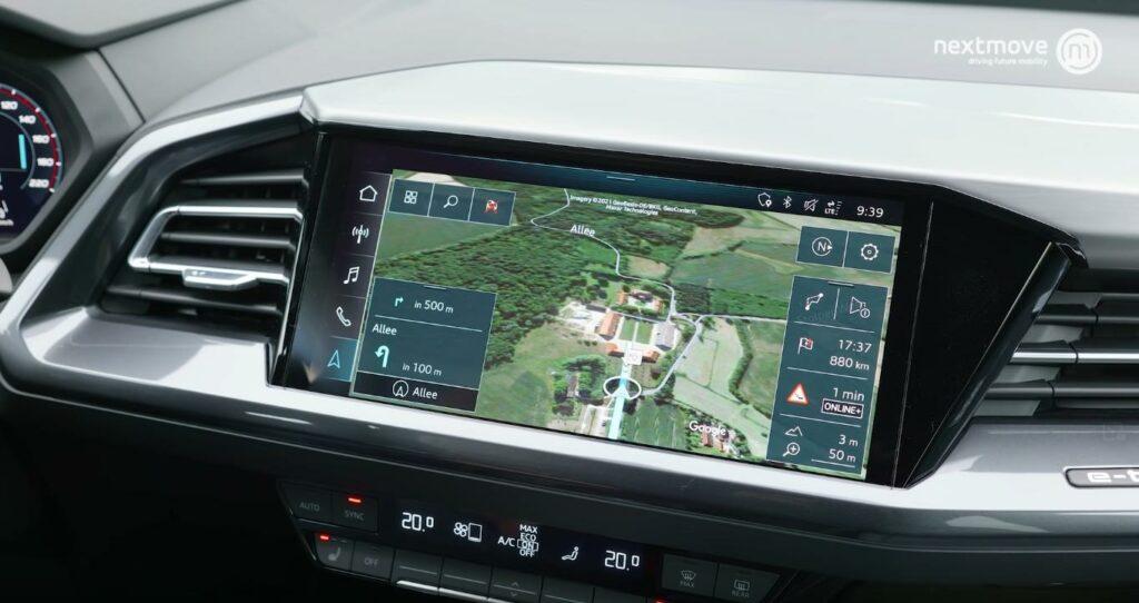 Audi Q4 e-tron Mitteldisplay