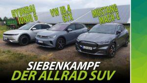 Allrad SUV Vergleich Titelbild