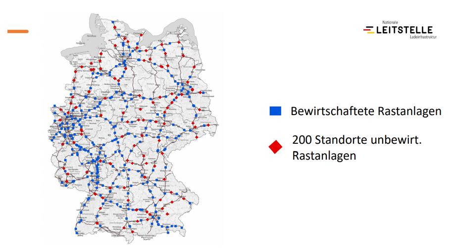 Deutschlandnetz Nebenstraßen