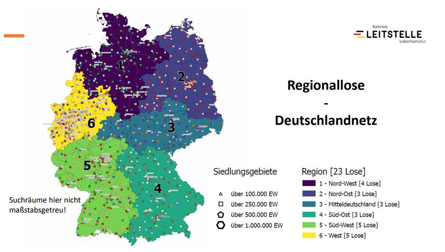 Regionallose Deutschlandnetz
