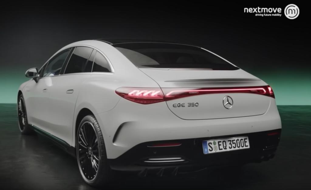 Mercedes EQE Heckansicht