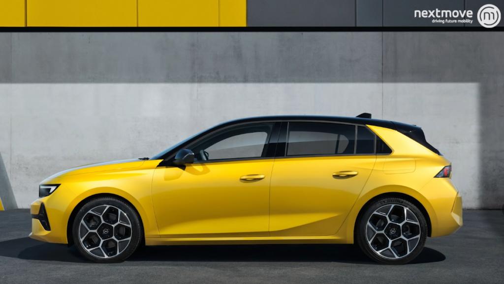 Opel Astra Elektro