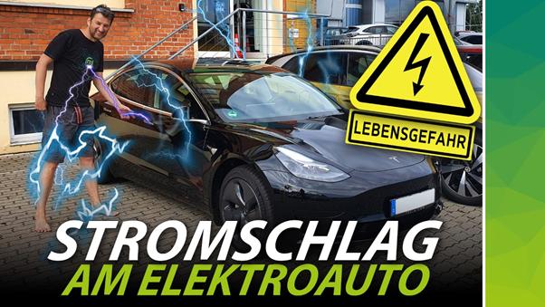 1 - Stromschlag am Elektroauto Titelbild